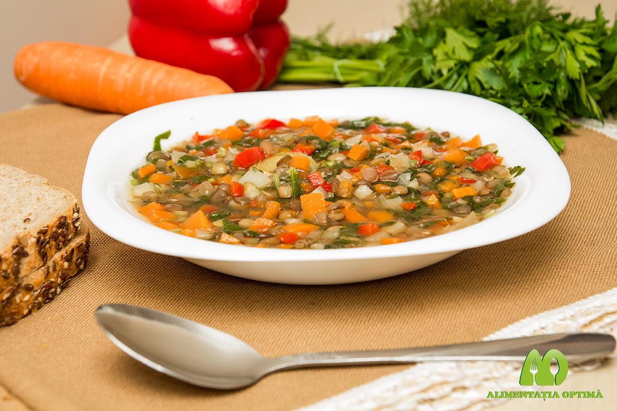 Supă deasă de legume