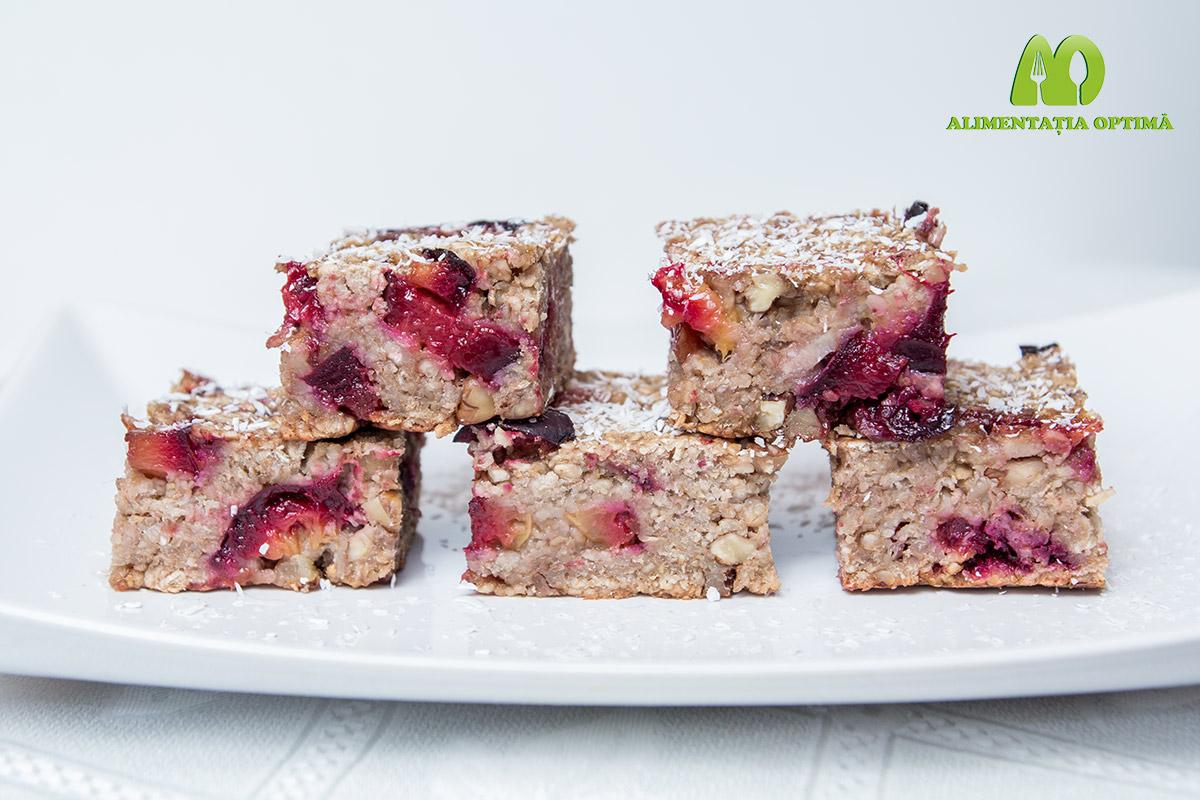 Prăjitură cu prune