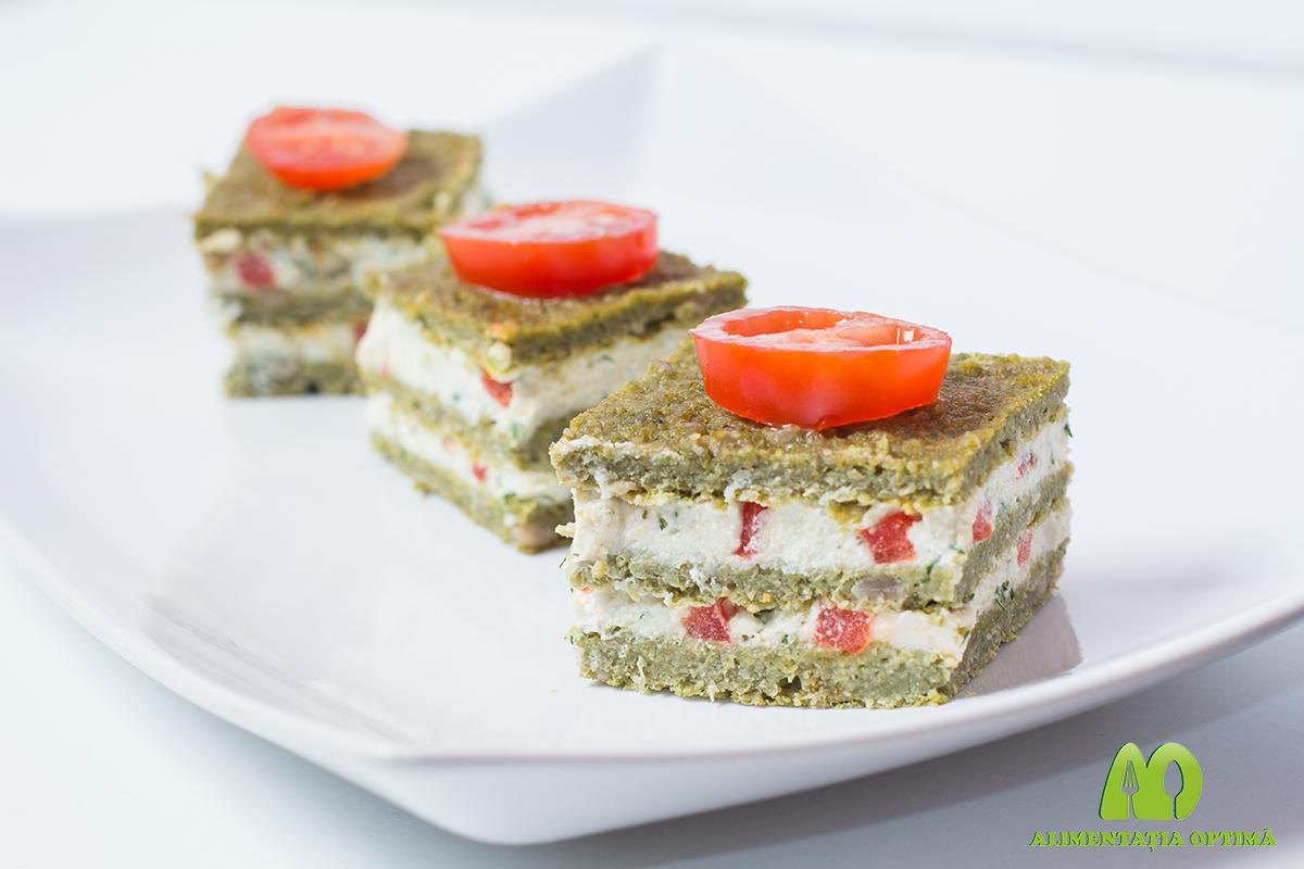 Placintă aperitiv cu tofu